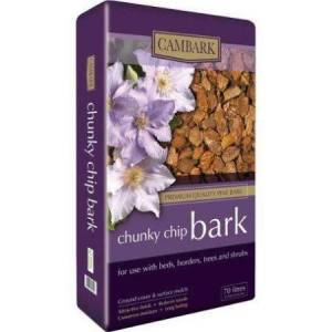 Bark Chip Chunky   30-80mm   70 L Bag