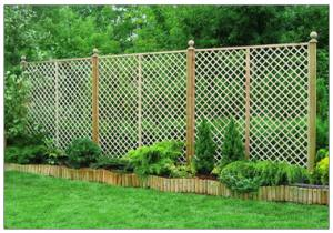English Trellis  183 x 450cm  Each