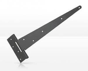 Hinges Tee Light   300mm   EPOXY BLACK