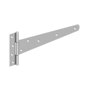 Hinges Tee Medium  350mm  EPOXY BLACK
