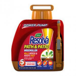 Resolva Path & Patio   5 Litre   Bottle