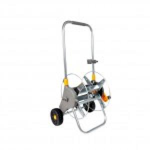 60m Assembled Metal Hose Cart (empty)
