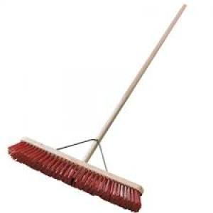 Broom Polypropylene C/W Handle600mm   Each