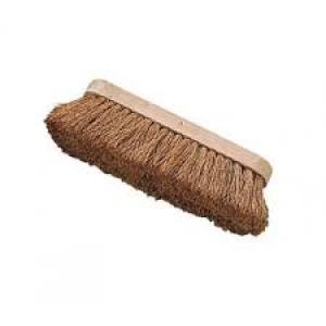 Broom Head Natural Coco Fill  250mm  Each Head Only