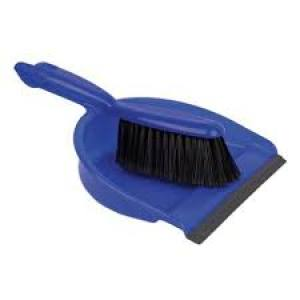 Dustpan & Brush Set Stiff   Each