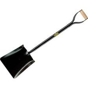 Shovel Square Mouth All Steel YD Handle  Each