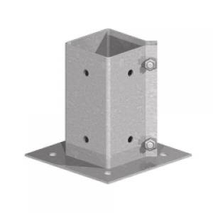 Post Support Bolt Down(S.C)(G)100x100mm   Each