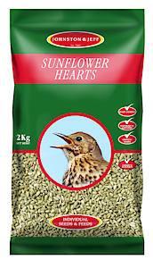 Wild Bird Sunflower Hearts  2 kg  Each
