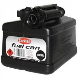 Fuell Can Black   5Ltr  Each