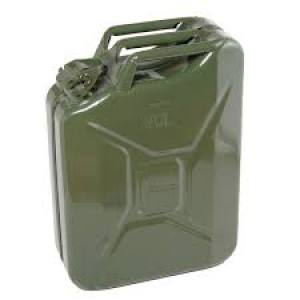 Fuel Can Metal (jerry can)  20Ltr  Each