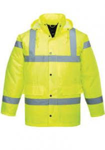 Jacket Hi Viz   XL  Yellow