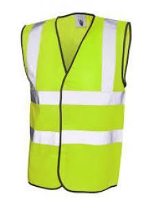 Waistcoat Hi Viz  XL  Yellow