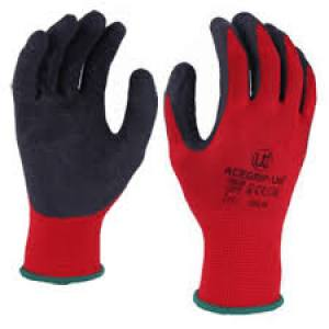 Gloves Latex Coated Palm  Size 10 Pair