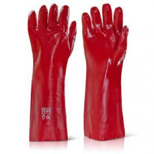 Gloves PVC Gauntlet  14