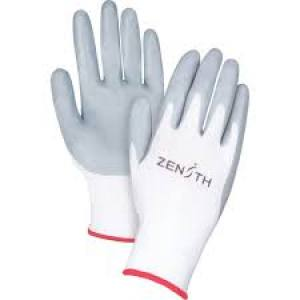 Gloves Nitrile Coated  Size 8  Pair
