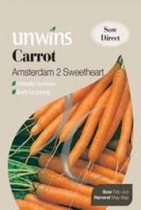 Carrot Amsterdam 2 Sweetheart  Per Pack