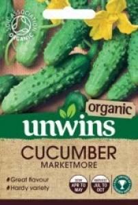 Cucumber Marketmore   (Organic)  Per Pack