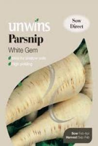 Parsnip White Gem  Per Pack