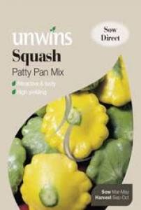 Squash Patty Pan Mix  Per Pack