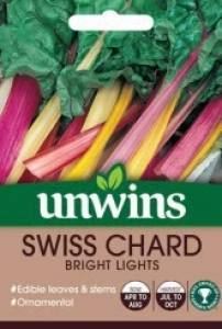 Swiss Chard Bright Lights  Per Pack