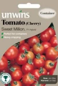 Tomato (Cherry) Sweet Million  Per Pack