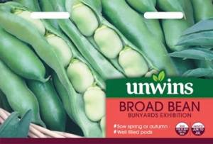 Broad Bean Bunyards Exhibition Per Pack