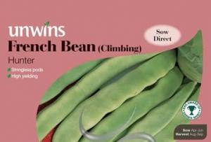 French Bean (Climbing) Hunter  Per Pack