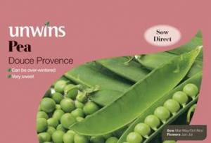 Pea (Maincrop) Douce Provence   Per Pack