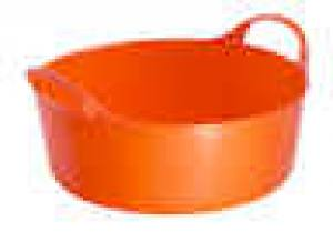 Tubtrug Mini Shallow Orange  5 Litre   Each