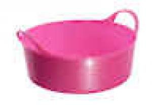 Tubtrug Mini Shallow Pink  5 Litre  Each