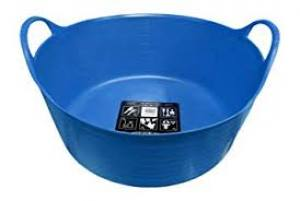 Tubtrug Small Shallow Blue  15 Litre  Each