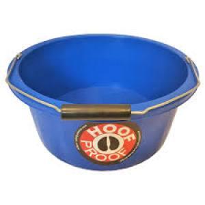 Bucket Hoof Proff Shallow Blue15 Litre  Each