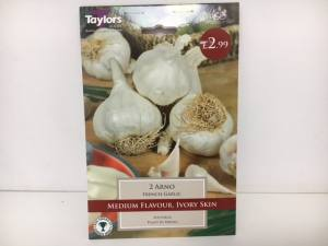 French Garlic Arno Medium  Pack of 2