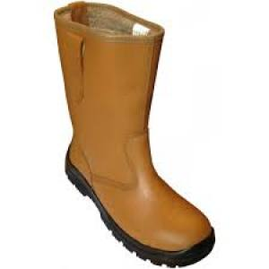 Boot Rigger WF100   Size 9  L.Tan