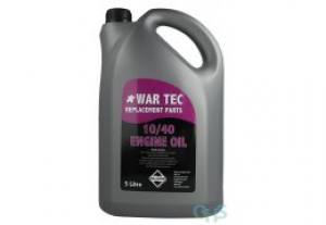 WAR TEC 10W/40 Engine Oil  5 Litre