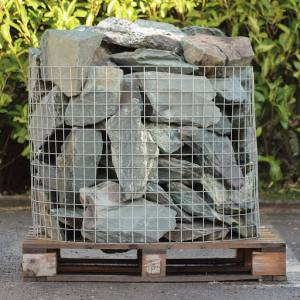 Green Slate Rockery  350mm   Each