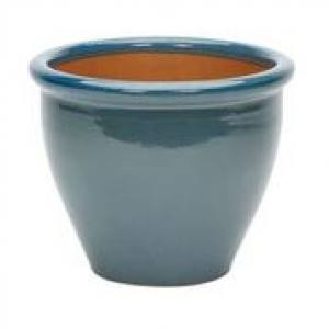 Glazed Rim Malay Planter  38 x 33cm  Each