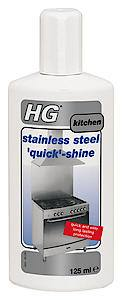 HG Stainless Steel Quick Shine125ml  Each