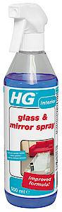 HG Glass & Mirror Spray  500ml  Each