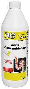 HG Liquid Drain Unblocker  1 Litre   Each