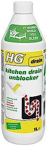 HG Kitchen Drain Unblocker   1 Litre  Each