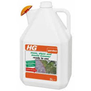 HG Patio Moss Algae Remover   5 Litre  Each
