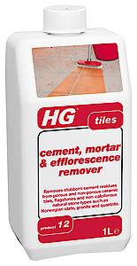 HG Cement/Mortar Remover  1 Litre  Each