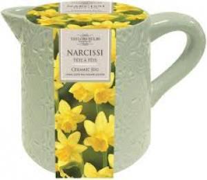 Narcissus Ceramic Jug  Each