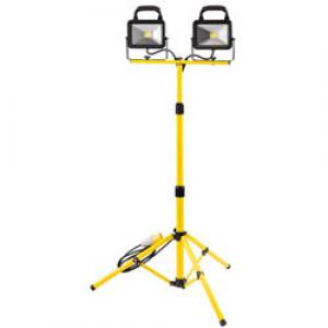 Twin Head Work Light S/L110V  2x20W COB LED  Each
