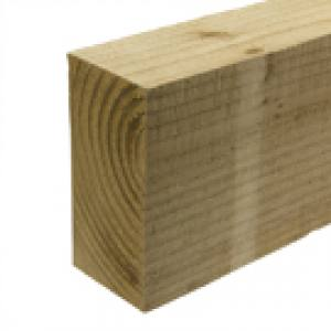 Post Timber 75x125x1800mm  Pointed