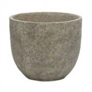 Cut Stone Egg Pot  26 x 26cm  Each