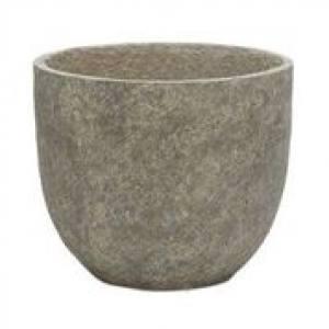 Cut Stone Egg Pot  31 x 31cm Each