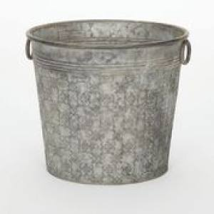 Chamberlain Metal Patterned Cone28 x 24cm  Each
