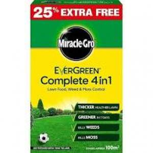 Miracle-Grow Complete 4 in 1  80 Sqm + 25%   Each